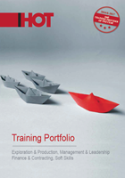 Cover page of 2019 Training Portfolio