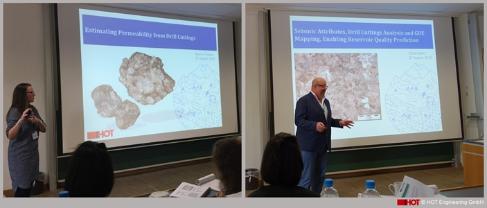HOT Participation at the First School on Sandstone Diagenesis at the FAU University in Erlangen, Germany